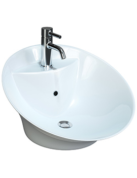 Anne Counter Top Free Flowing Basin 510mm - BBD Anne