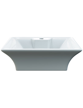 Aqva Atlas Rectangular Countertop Wash Basin - NBV005