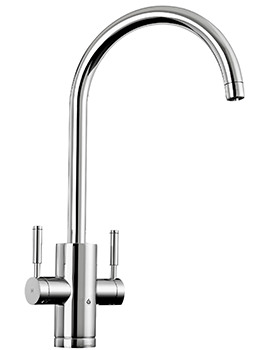 Rangemaster GEO Trend 4-In-1 Chrome Finish Boiling Water Tap