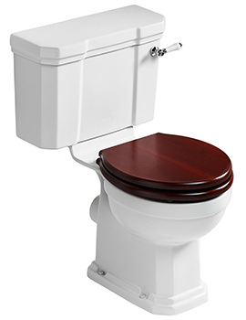Waverly Close Coupled WC Pan 680mm And Cistern