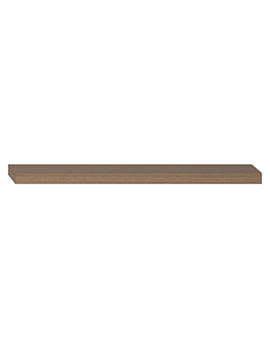 600 x 130mm Wood Shelf Golden Cherry