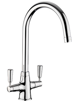 Rangemaster Aquaclassic 2 Monobloc Chrome Kitchen Sink Mixer Tap