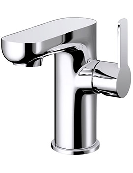 Pura Echo Side Lever Basin Mixer Tap With Clicker Waste - ERBAS