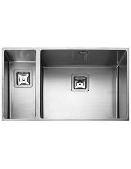 Atlantic Kube 740 x 430mm Stainless Steel 1.5B Undermount Sink