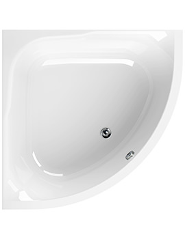 Satellite 1200 x 1200mm Corner Bath - 154SATELLITE
