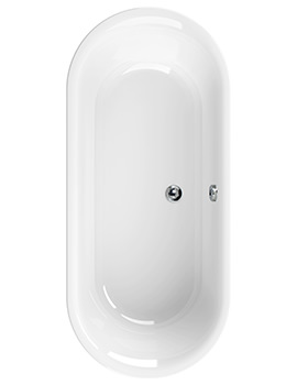 Metauro Classic 1800 x 800mm Double Ended Bath