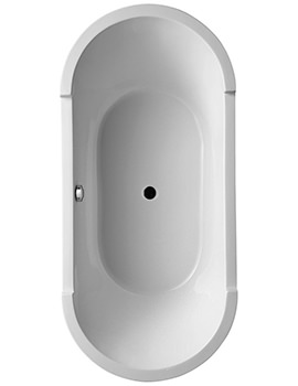 Duravit Starck 1800 x 800mm Built In Bath With Support Frame - 700013