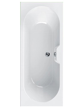 Calisto 1700 x 700mm Double Ended Bath - 154CALISTO1770