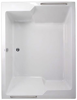 Plane Duo 1900 x 1450mm Double Ended Bath - 154PLANEDUO1914