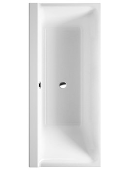 P3 Comforts 1700x750mm Bath Left Slope With Frame - 700386