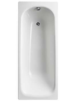 Sandringham 21 White 1700 x 700mm Bath Without Tap Hole