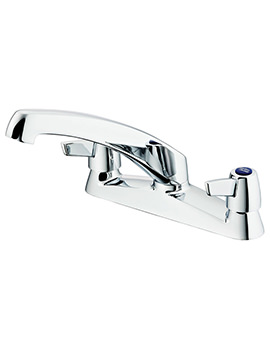 Sandringham 21 2 Hole Sink Mixer Tap With Lever Handles