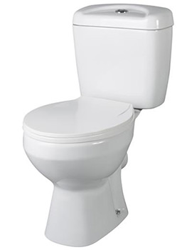 Melbourne Close Coupled WC Set 630mm
