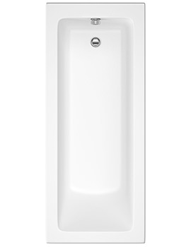 Trojan Solarna Single Ended Bath 1700 x 700mm No Taphole