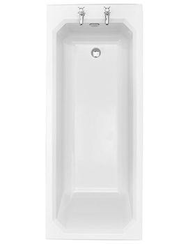 Granley Deco 1700 x 700mm Single Ended Bath - BGDW02SS