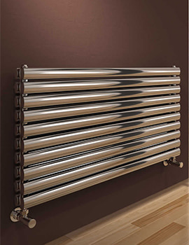 Reina Artena Double Stainless Steel Radiator 1000 x 590mm