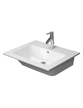 Me By Starck 630mm 1 Taphole Furniture Washbasin