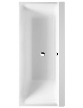 P3 Comforts 1700x700mm Bath Right Slope With Frame - 700385