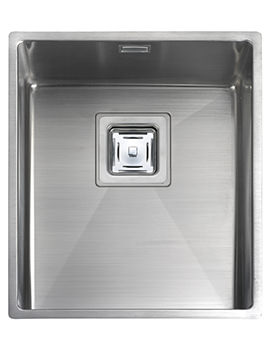 Atlantic Kube 370 x 430mm Stainless Steel 1.0B Undermount Sink