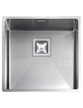 Atlantic Kube 430 x 430mm Stainless Steel 1.0B Undermount Sink