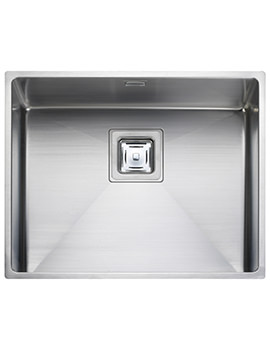 Rangemaster Atlantic Kube 530 x 430mm Stainless Steel 1.0B Undermount Sink