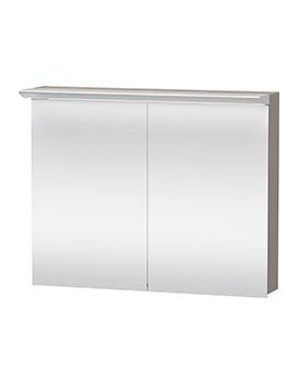 Darling New 1000mm 2 Door Mirror Cabinet - DN753701414