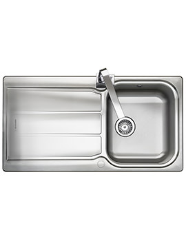 Glendale 950 x 508mm Stainless Steel 1.0B Inset Kitchen Sink