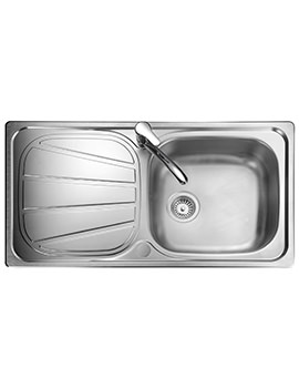 Baltimore 950 x 508mm Stainless Steel 1.0B Inset Kitchen Sink