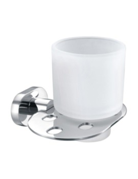 Fiorenza Tumbler Holder And Cup Chrome