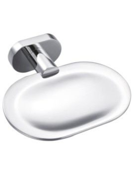 Fiorenza Soap Dish And Holder Chrome