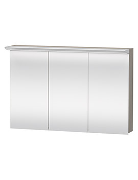 Duravit Darling New 1200mm 3 Door Mirror Cabinet