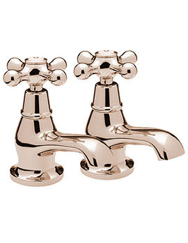 Victoria Pair Of Basin Tap Gold - VICT21