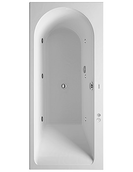 Darling New 1700 x 750mm Left Hand Bath With And Jet-System