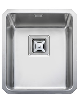 Atlantic Quad 390 x 450mm Stainless Steel 1.0B Undermount Sink