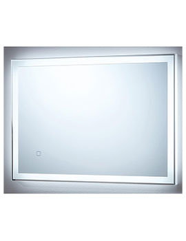 Orion 500 x 700mm Touch Sensor LED Mirror With Demister Pad