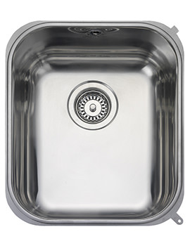Atlantic Classic 378 x 448mm Stainless Steel 1.0B Undermount Sink