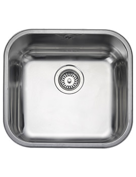 Atlantic Classic 490 x 460mm Stainless Steel 1.0B Undermount Sink