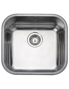 Atlantic Classic 460 x 440mm Stainless Steel 1.0B Undermount Sink