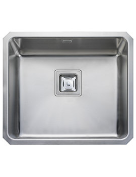 Rangemaster Atlantic Quad 530 x 450mm Stainless Steel 1.0B Undermount Sink