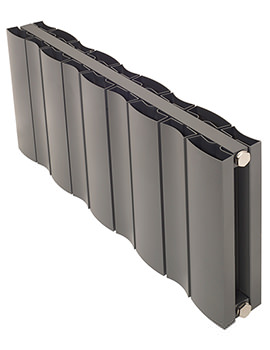 Apollo Malpensa Wave Horizontal 728 x 600mm Radiator