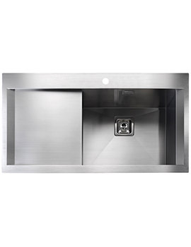 Senator 990 x 525mm Stainless Steel 1.0B Inset Kitchen Sink