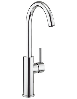 Crosswater Cucina Kai Lever Tall Kitchen Sink Mixer Tap