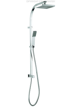 Planet Shower Diverter With Fixed Head And Handset Kit