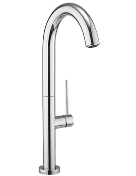 Cucina Tube Round Side Lever Kitchen Sink Mixer Tap