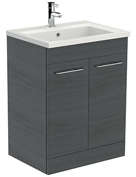 Saneux Austen 600mm Alaska Floor Standing Unit With X ACT Washbasin