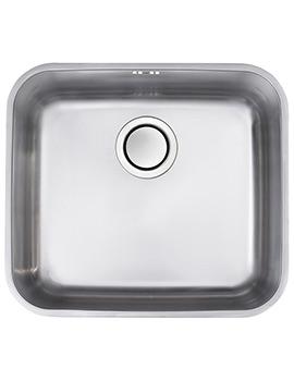 Edge S2 1.0 Bowl Polished Stainless Steel Undermount Sink
