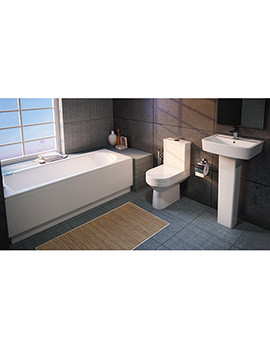 Modern Vancouver Small Bathroom Suite