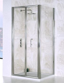 Saneux Wosh Bi Fold Shower Door 700mm Wide