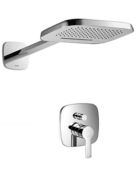 Urban Manual Valve With Diverter And Dual Function Shower Head