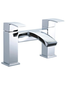 Mayfair Colorado Deck Mounted Bath Filler Tap Chrome